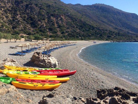 Gialiskari beach