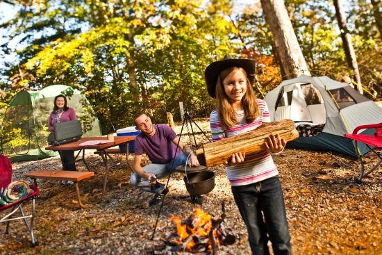 Williamsburg KOA Campground: Family fun!