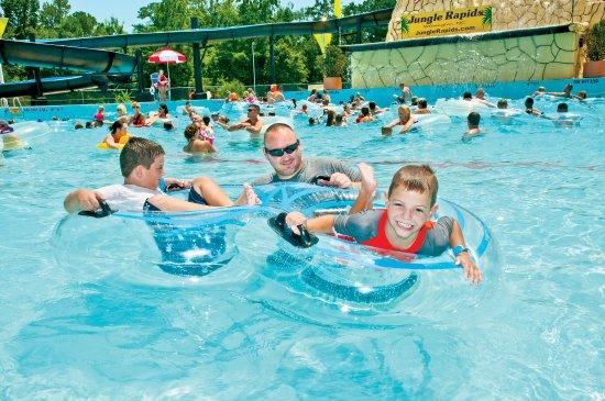 Jungle Rapids Family Fun Park: Water park fun!