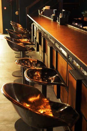 Admirable Probably The Longest Counter In Katowice With Some Fancy Bar Machost Co Dining Chair Design Ideas Machostcouk