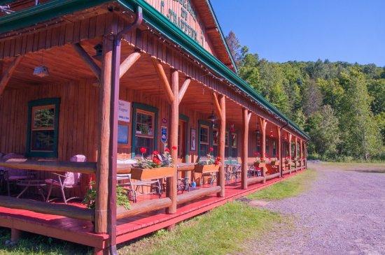 Wentworth Nord, Kanada: terrasse ensoleillée