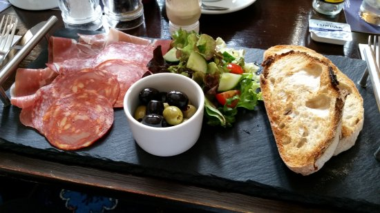 Burton-in-Lonsdale, UK: my starter