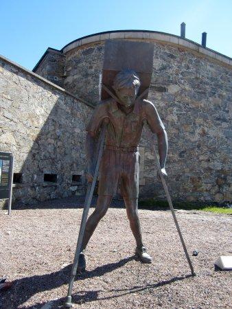 Marstrand, Sweden: Utanför Strandverket