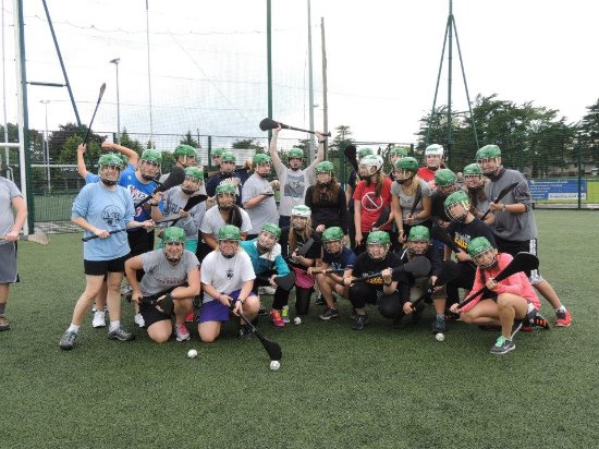 Experience Gaelic Games: Group Shot