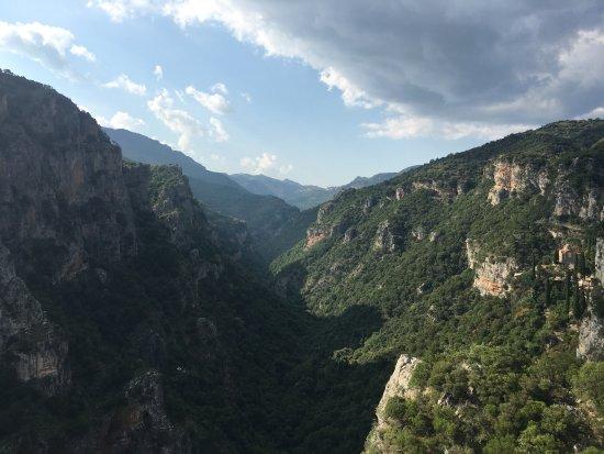 Lousios Gorge