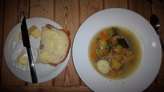 Cafe Hafan: Welsh Cawl - i.e. a lovely soup/broth