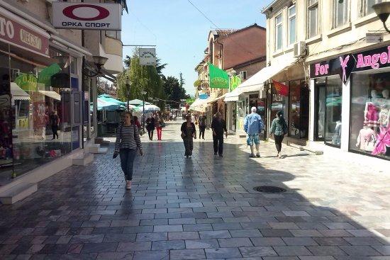 Македония, Греция: gezellige wikelstraat