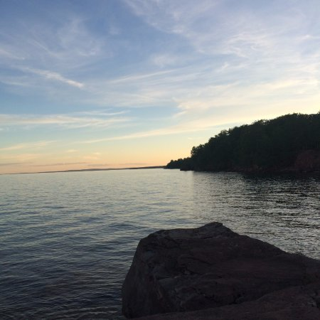 Apostle Islands, วิสคอนซิน: A beautiful sunset!