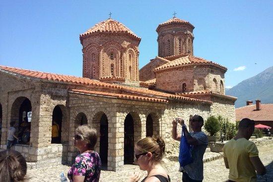 Македония, Греция: Abdij in de bergen