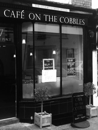 Alford, UK: Cafe on the Cobbles