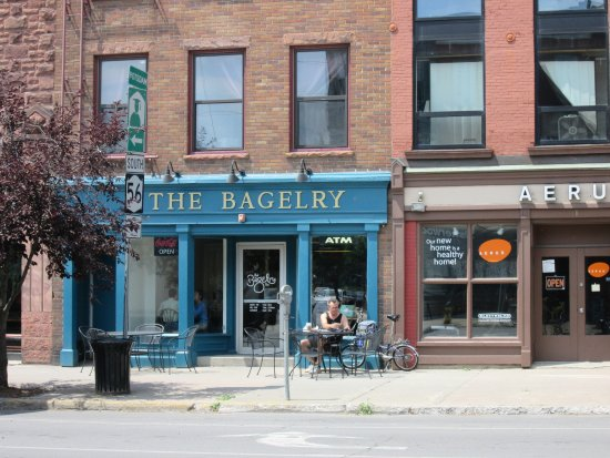 Potsdam, NY: The Bagelry on Market Street