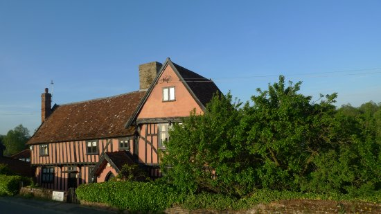 Стоумаркет, UK: Tudor Farmhouse B & B