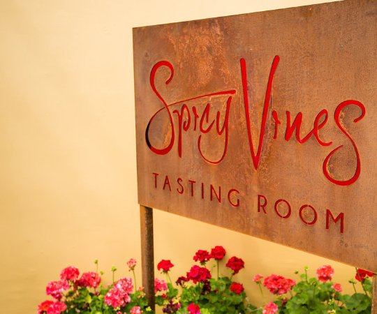 Healdsburg, Californien: Let there be spice!