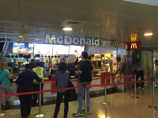 Mcdonald S Jamaica Jfk International Airprt Menu