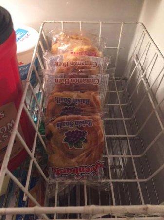 Chautauqua, estado de Nueva York: Raisin snacks for breakfast.