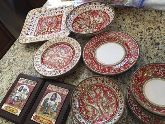 Ceramiche Cosmolena di Margherita di Palma: Our new Italian dishes