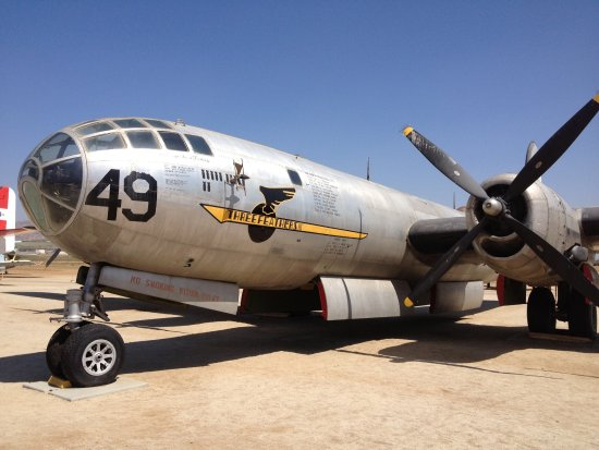 Chino, CA: Planes of Fame Air Museum