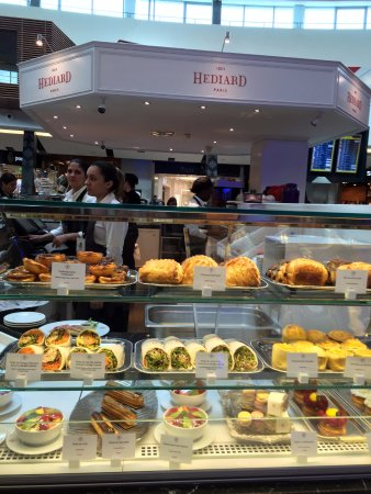 La Table d'Hediard : Hediard Kiosk at Lisbon Airport