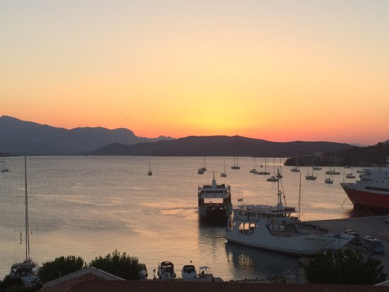 Hotel Dimitra : View from our room.