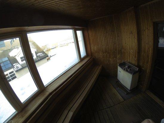 Clarion Collection Hotel Aurora: sauna