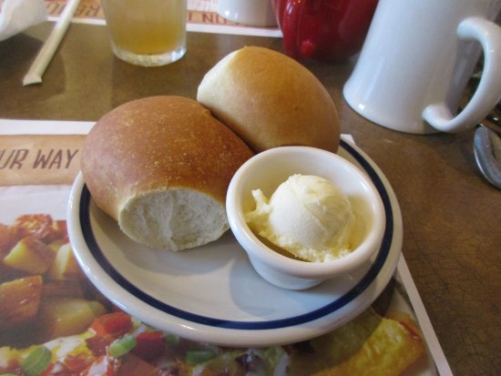 Lake City, FL: Fresh, hot dinner rolls!