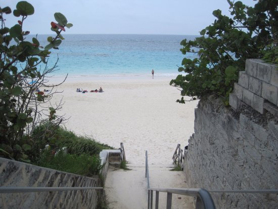 Entrance to Elbow Beach
