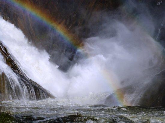 Cee, Spania: Barranquismo en cascada del Xallas