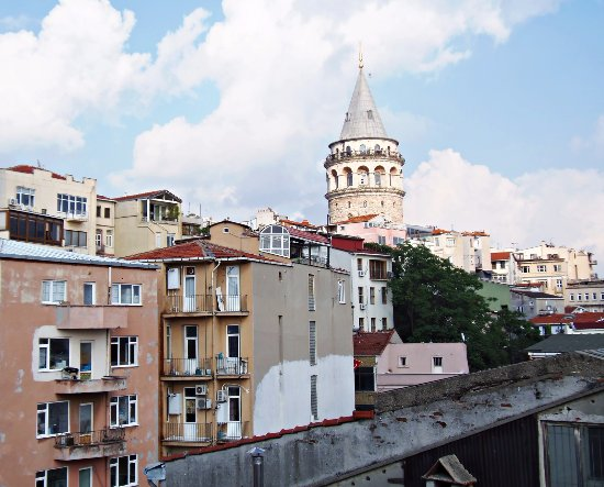 Galata West Hostel: View from the terrace