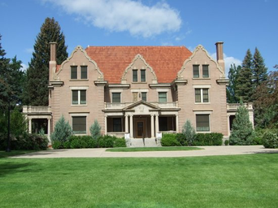 Sheridan, WY: 1913 Flemish Revival Mansion