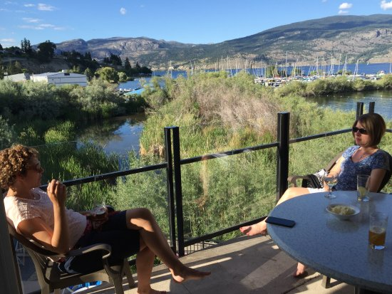 Summerland, Canada : View from patio