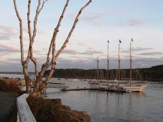 Agamont Park: Sail boats