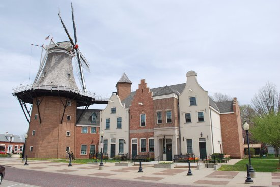 Royal Amsterdam Hotel: The largest working windmill in to US located across the street from the hotel.