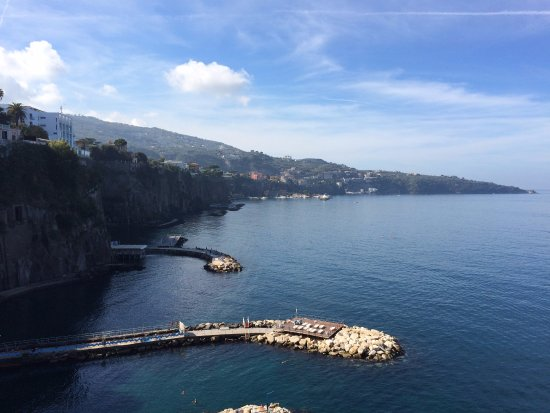 View of Sorrento from Sant'Agnello