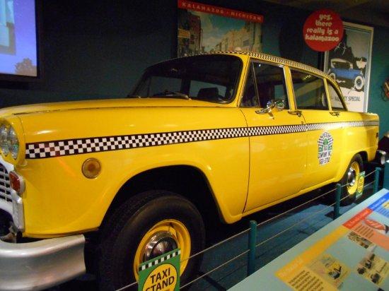 Kalamazoo Valley Museum: Checker Cabs made in Kalamazoo
