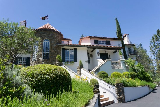 Chateau du Sureau at Erna's Elderberry House Restaurant in Oakhurst, California.