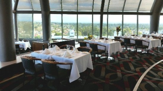 Another View Of Sydney From Inside Cucina Restaurant Picture Of Cucina Locale Revolving Restaurant Blacktown Tripadvisor
