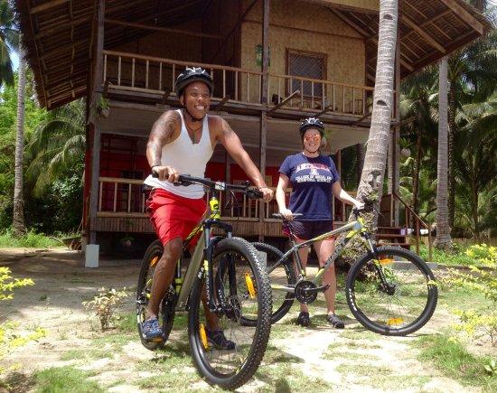 Port Barton, Filipinas: Mountain bike (free)