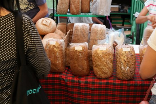 Salcedo Saturday Market : pane