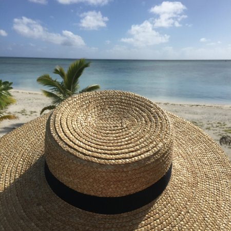 Aitutaki Escape: View from the deck