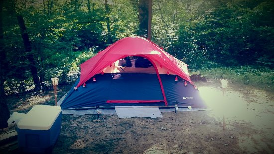 Oak Creek Campground: Loved camping here!!! Will def be coming back again when we go to kentucky