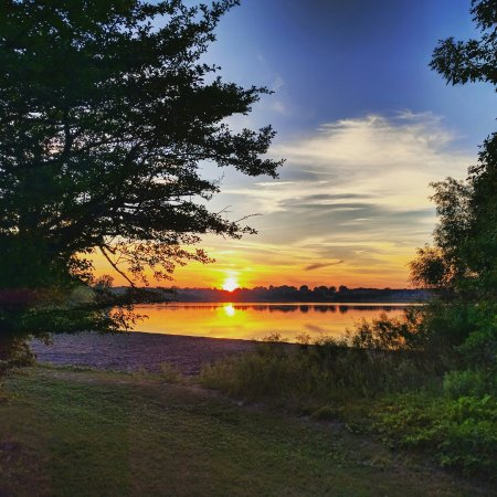 Ingleside, Canada: Sunset at Woodlands Camp