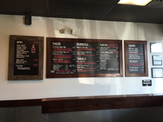 The Woodlands, TX: El menu