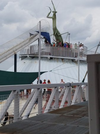 The Magic House: On the rooftop there is a play area with a ferris wheel this is located on the 11th floor.