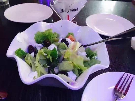 Beihai, Kina: Greek salad