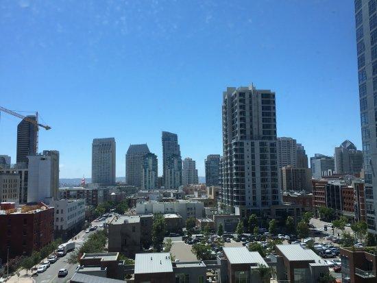Hotel Indigo San Diego Gaslamp Quarter: City view from our room