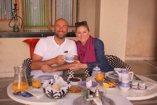 Palais Bahia: Our wonderful breakfast