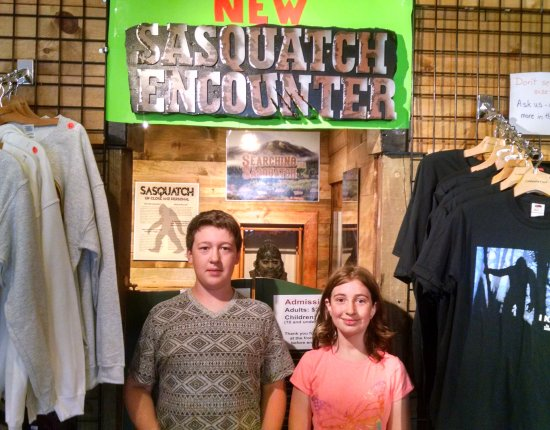Bailey, Колорадо: Sasquatch Encounter - great little museum