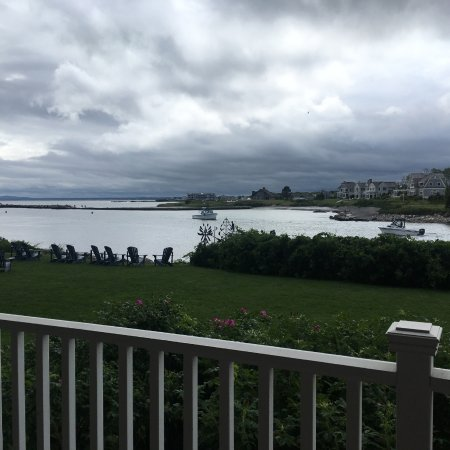 The Breakwater Inn and Spa: Specatular view from patio