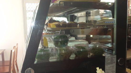 Anna Bay, Australia: salads and desserts