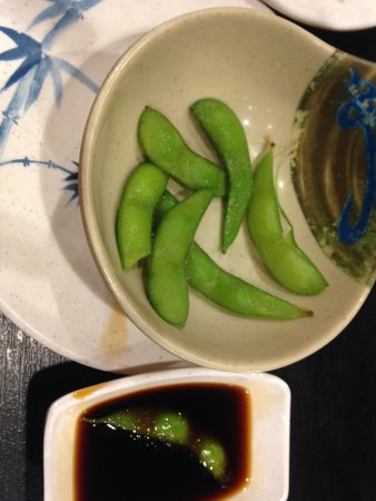 Chino, Kalifornia: bowl of edamen